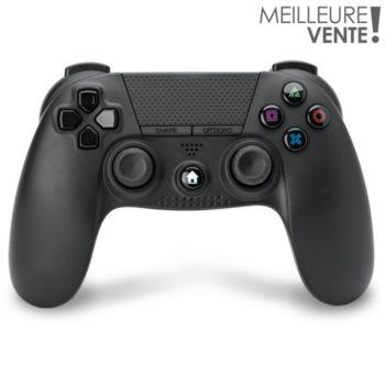 Under Control Manette PS4 sans fil Noire V2