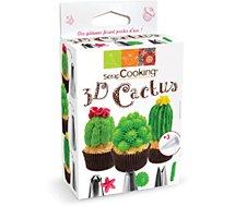 Douille à pâtisserie Scrapcooking  Kit 3D Cactus