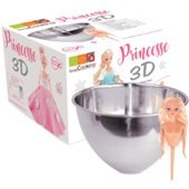 Kit Pâtisserie Scrapcooking Kit moule inox dome + buste princes