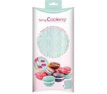 Tapis en silicone Scrapcooking  silicone pour macarons