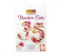 Moule à gâteau fantaisie Scrapcooking  number cake