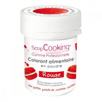 Scrapcooking artificiel en poudre rouge 5g