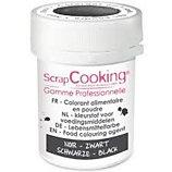 Colorant alimentaire Scrapcooking  en poudre noir  5g