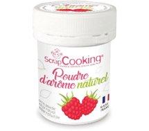 Arôme naturel Scrapcooking  poudre d arome naturel framboise 15