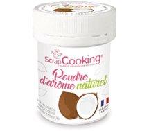Arôme naturel Scrapcooking  poudre d arome naturel noix de coco