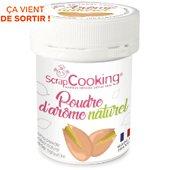 POT Scrapcooking opoudre d arome naturel pistache 15
