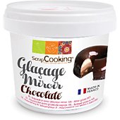 POT Scrapcooking mix glacage miroir chocolate 220g