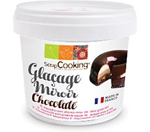 Glaçage Scrapcooking  mix glacage miroir chocolate 220g