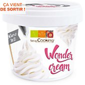 POT Scrapcooking wonder cream blanche 150g