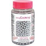 Décoration de pâtisserie Scrapcooking  sucre perles argentees  55g