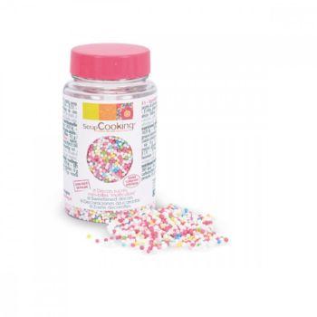 Scrapcooking sucres minibilles multicolores 80g