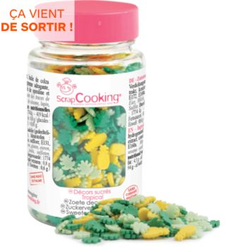 Scrapcooking sucres  tropical  55g