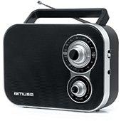 Radio analogique Muse M-051 R noire