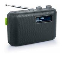 Radio numérique Muse  M-108D noire