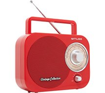 Radio analogique Muse M-055RD rouge