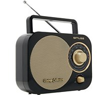 Radio analogique Muse  M-055RB noire
