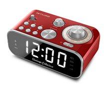 Radio réveil Muse  M-18 rouge