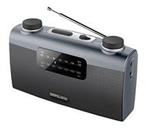 Radio analogique Muse  M-058 R gris