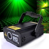 Jeu de lumières Ghost GHOST Laser ultra léger - Vert 50 mW + R