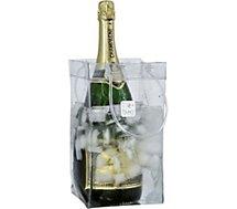 Rafraîchisseur Ice Bag Transparent pour 2 bouteilles