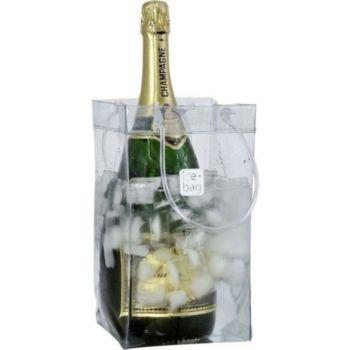 Ice Bag Transparent pour 2 bouteilles