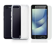 Pack Ibroz Zenfone 4 MAX ZC520 Coque+Protège écran