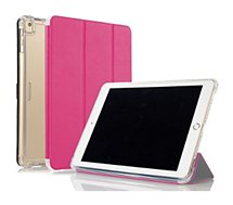 Coque Ibroz Antichoc + Smart Cover  iPAD 9.7 Rose