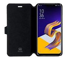 Etui Ibroz Zenfone 5 ZE620KL - ZS620KL Cuir Noir