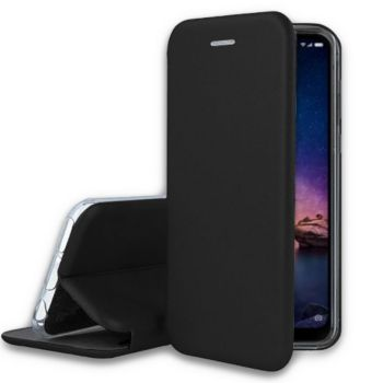 Ibroz Xiaomi Redmi Note 6 Cuir noir