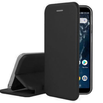 Ibroz Xiaomi MI A2 Lite Cuir noir
