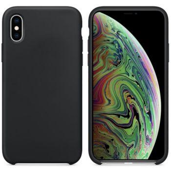Ibroz iPhone Xs Max Liquid Silicone noir