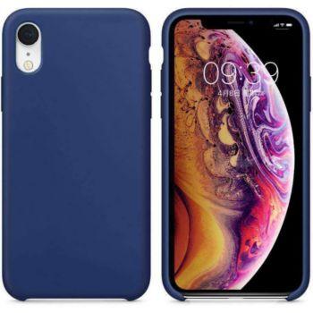 Ibroz iPhone Xr Liquid Silicone bleu