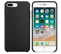 Coque Ibroz  iPhone 6/7/8 Liquid Silicone noir