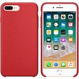 Coque Ibroz  iPhone 6/7/8 Liquid Silicone rouge