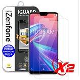 Protège écran Ibroz  ZenFone Max ProM2 Verre trempé x2
