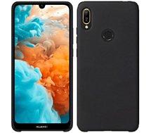 Coque Ibroz Huawei Y6 2019 Liquid Silicone noir