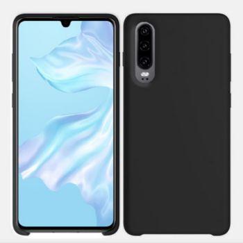 Ibroz Huawei P30 Liquid Silicone noir