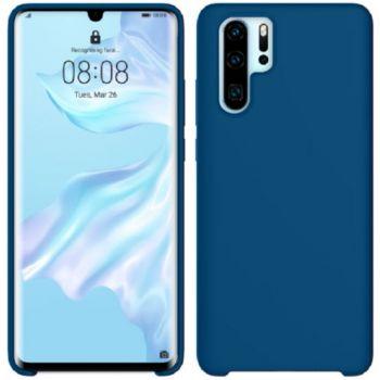 Ibroz Huawei P30 Pro Liquid Silicone bleu