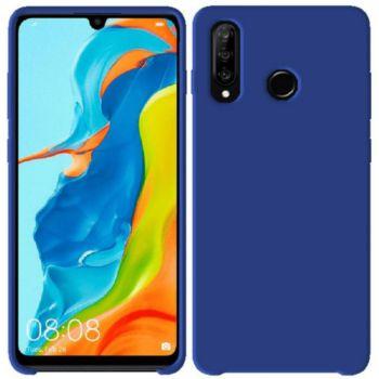 Ibroz Huawei P30 Lite Liquid Silicone bleu