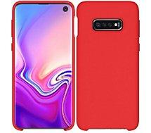 Coque Ibroz  Samsung S10e Liquid Silicone rouge