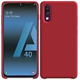 Coque Ibroz  Samsung A40 Liquid Silicone rouge