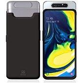 Housse Ibroz Samsung A80 Liquid Silicone noir