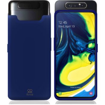 Ibroz Samsung A80 Liquid Silicone bleu