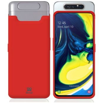 Ibroz Samsung A80 Liquid Silicone rouge