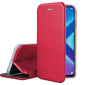 Etui Ibroz Honor 8X Cuir rouge