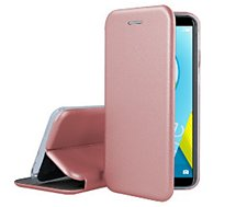 Etui Ibroz  Honor 9 Lite Cuir rose