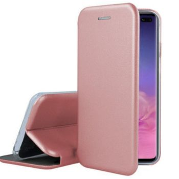 Ibroz Samsung S10+ Cuir rose