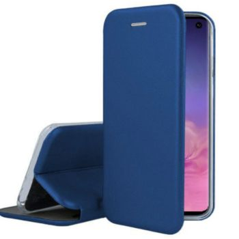 Ibroz Samsung S10e Cuir bleu