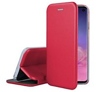 Etui Ibroz Samsung S10e Cuir rouge