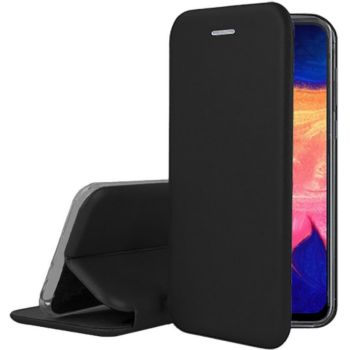 Ibroz Samsung A10 Cuir noir